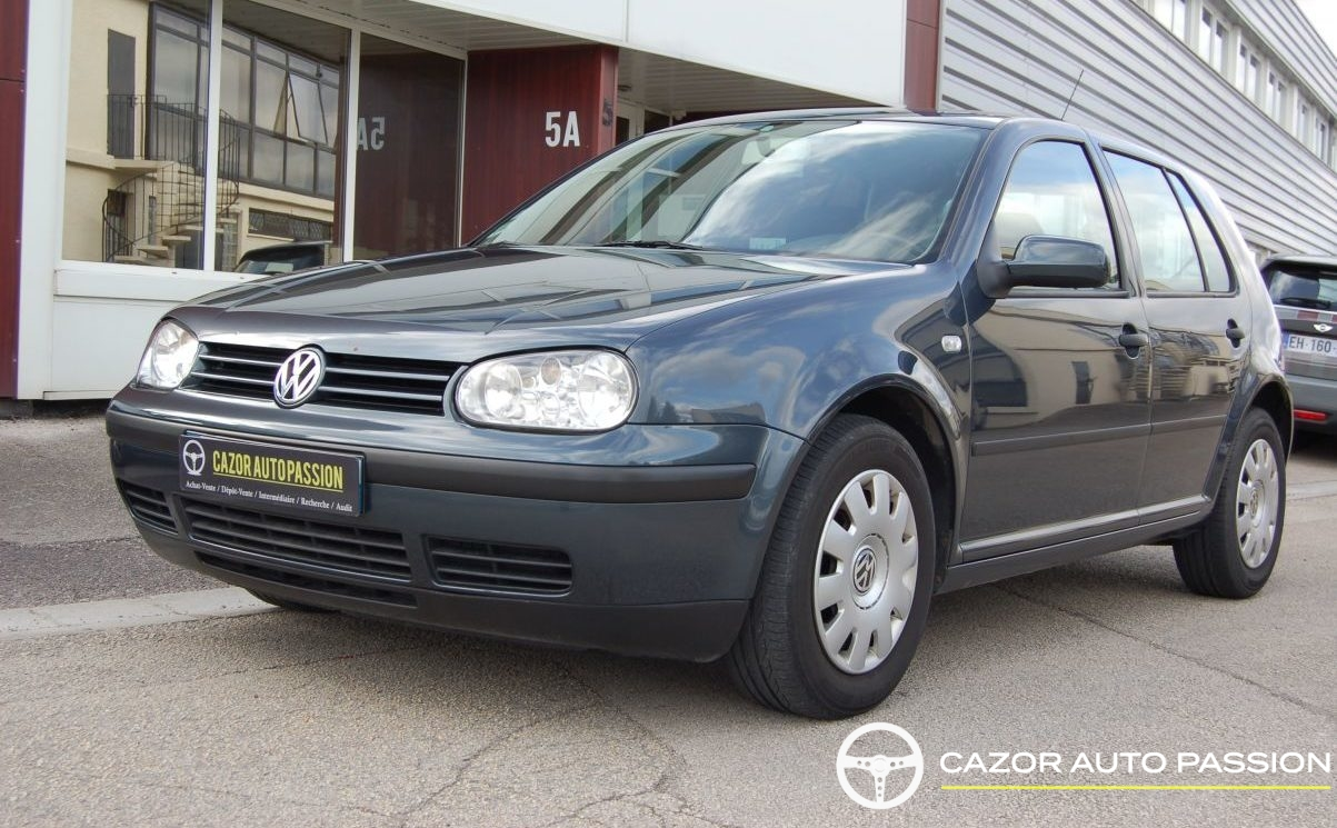 volkswagen golf 4 iv 1 9 tdi 100 ch match cazor auto passion. Black Bedroom Furniture Sets. Home Design Ideas