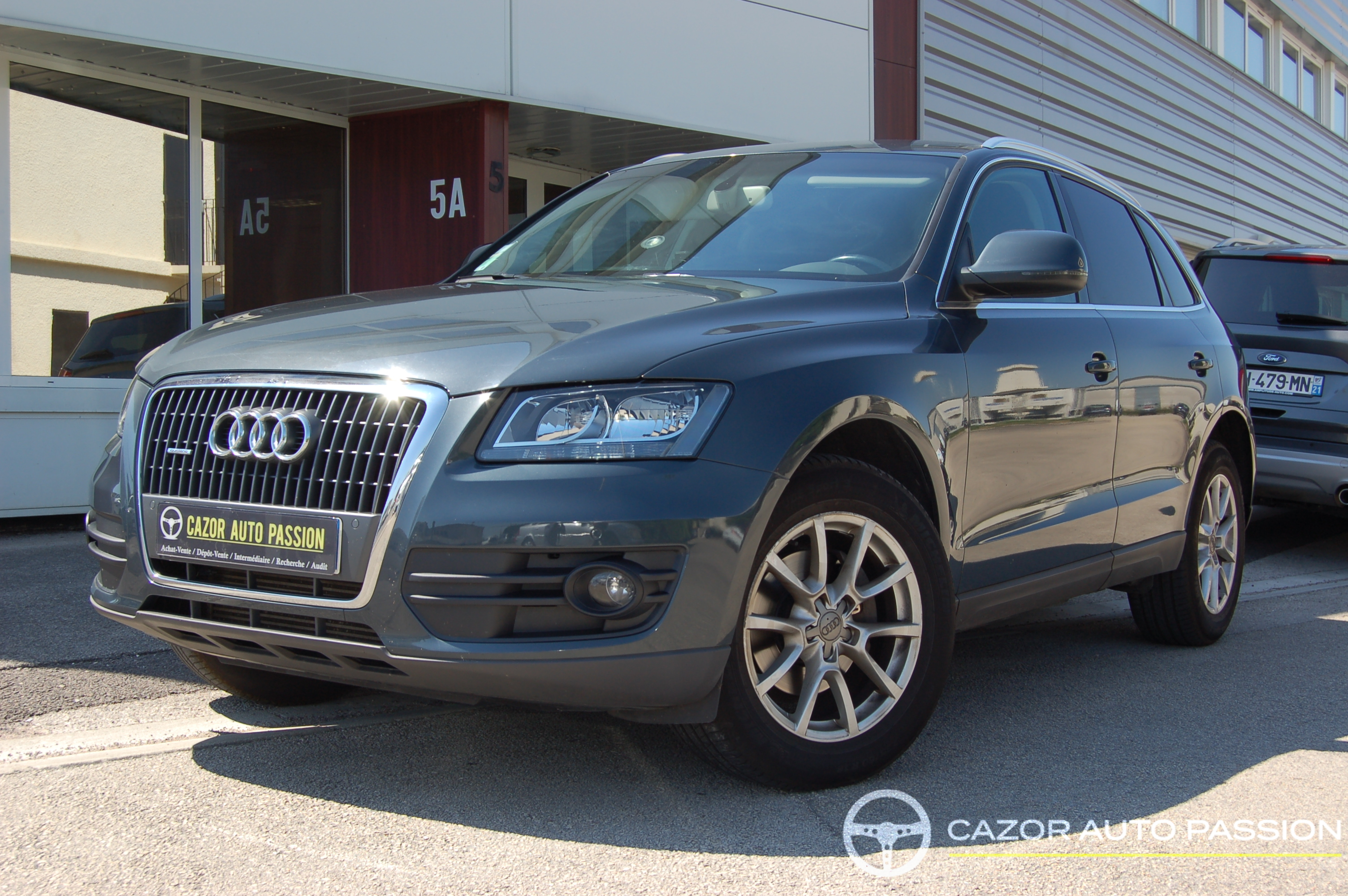 audi q5 2 0 tdi 177 ch ambition luxe quattro s tronic cazor auto passion. Black Bedroom Furniture Sets. Home Design Ideas