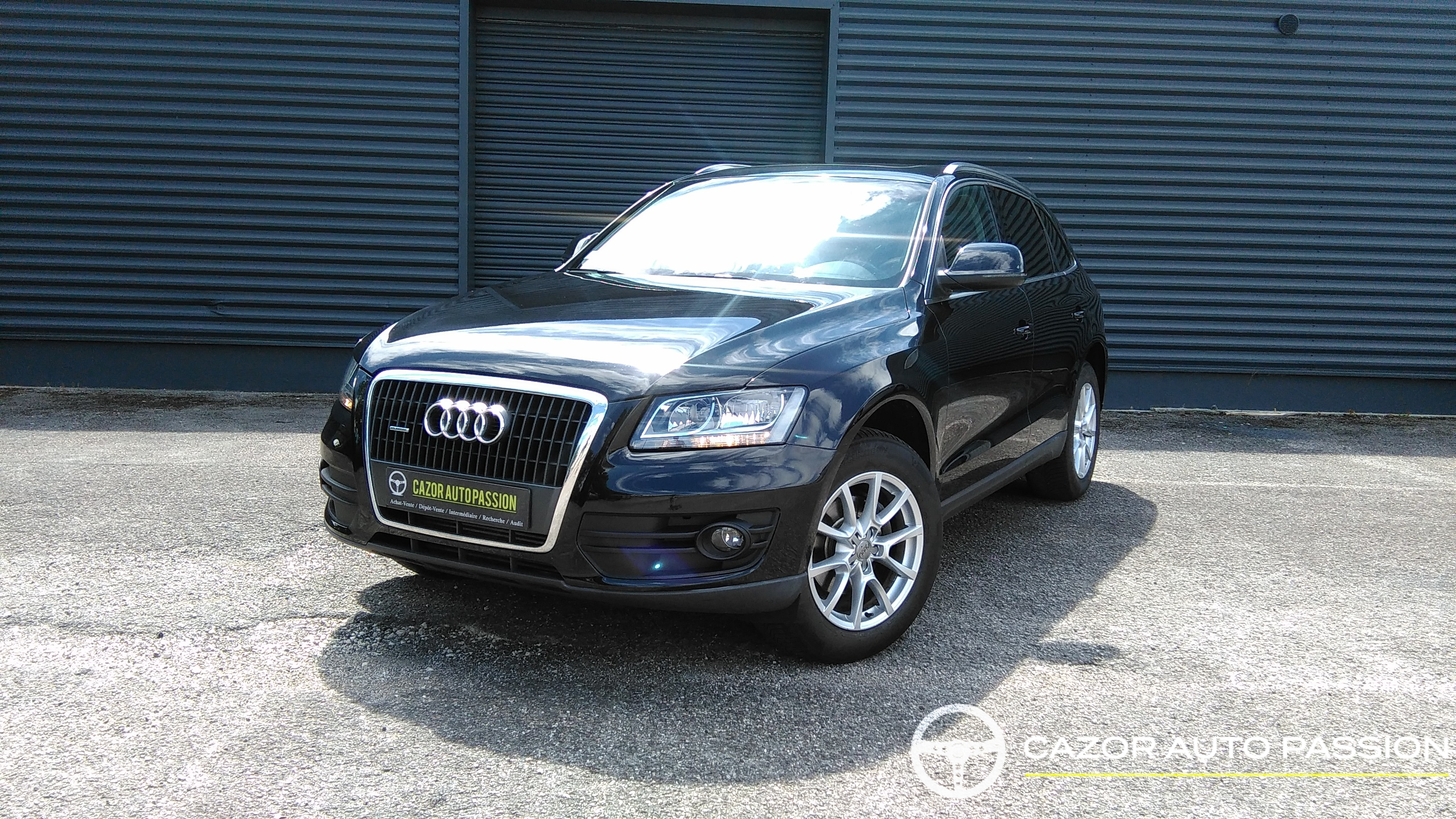 audi q5 2 0 tdi 140 ch ambition luxe quattro cazor auto. Black Bedroom Furniture Sets. Home Design Ideas