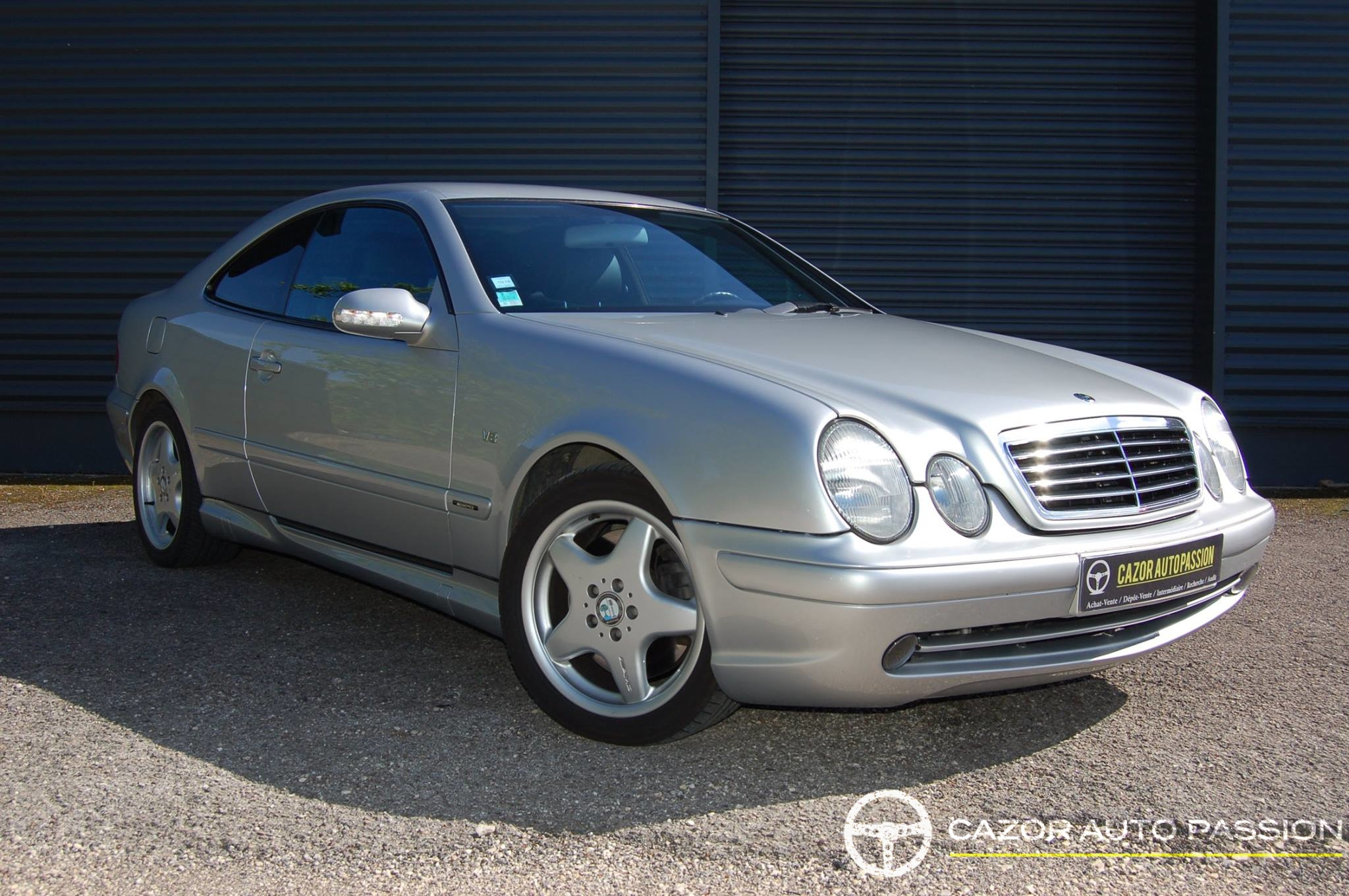mercedes clk 55 amg w208 cazor auto passion. Black Bedroom Furniture Sets. Home Design Ideas