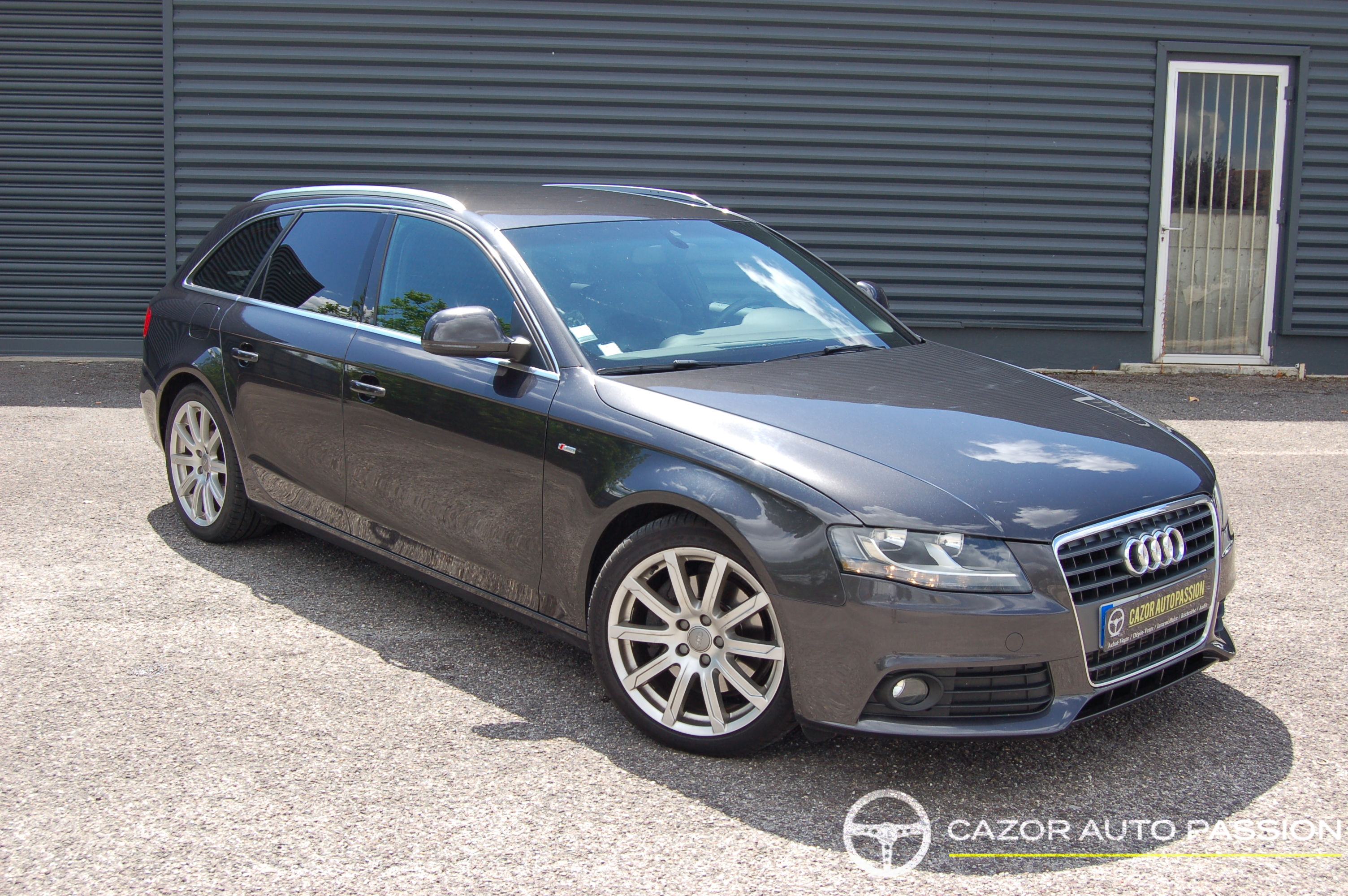 audi a4 avant v6 2 7 tdi 190ch s line bvm6 cazor auto passion. Black Bedroom Furniture Sets. Home Design Ideas