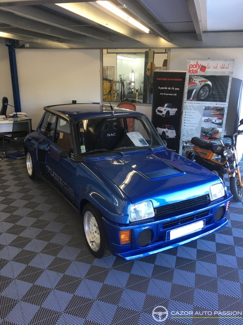 renault 5 turbo 2 r8220 1984 cazor auto passion. Black Bedroom Furniture Sets. Home Design Ideas