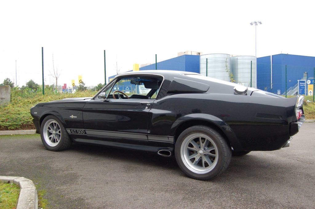mustang shelby gt 500 fastback eleanor clone 1967 cazor auto passion. Black Bedroom Furniture Sets. Home Design Ideas